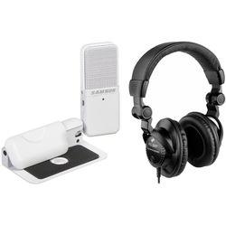 Samson Go Mic - Portable USB Microphone & Headphone Bundle