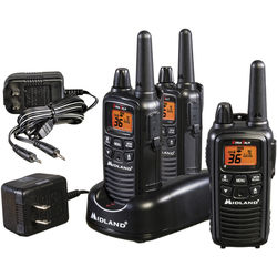 Midland LXT633VP3 36-Channel Two-Way UHF Radio (3-Pack)