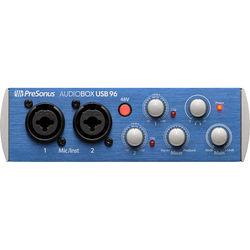 PreSonus AudioBox 96 USB 2.0 Audio Recording Interface