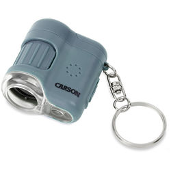 Carson MicroMini 20x Pocket Microscope (Surf Blue)