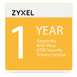 ZyXEL 1-Year Kaspersky Anti-Virus UTM Security Service License for USG100 Unified Security Gateway
