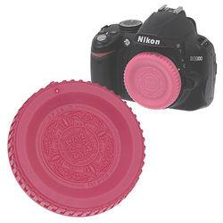 FotodioX Designer Body Cap for Nikon F Mount Cameras (Pink)