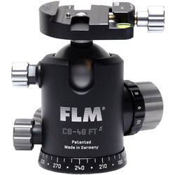 FLM CB-48FTR Professional FT Series Ball Head with SRB-60 QR Clamp