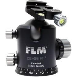 FLM CB-58FTR Professional FT Series Ball Head with SRB-60 QR Clamp