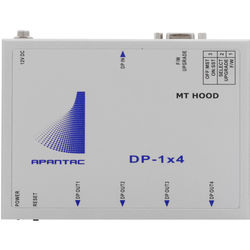 Apantac 1x4 DisplayPort 1.2 Distribution Amplifier