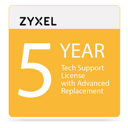 ZyXEL 5-Year Tech Support Contract for USG60 / -NB / USG60W / -NB & USG/ZyWALL 110 (Class B)