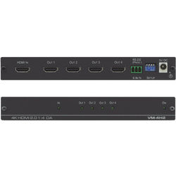 Kramer HDMI 2.0 4K 1x4 Distribution Amplifier with HDCP/EDID Support