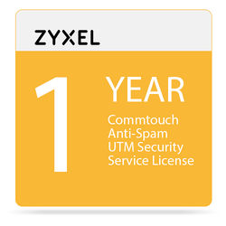 ZyXEL 1-Year Commtouch Anti-Spam UTM Security Service License for USG20W Unified Security Gateway