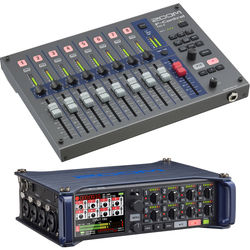 Zoom Zoom F8 Multitrack Field Recorder Kit with F-Control Mixer