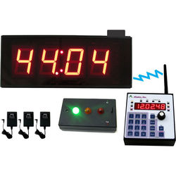 alzatex Wireless Presentation Timer System with Large LED Display