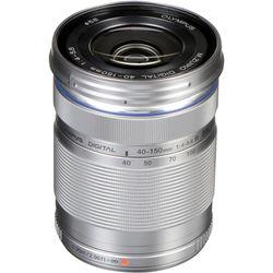 Olympus M.Zuiko Digital ED 40-150mm f/4-5.6 R Lens (Silver)