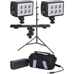 LED Science LED Science 2-Light 20-Degree Accubeam Kit with Dual Bracket and Stand
