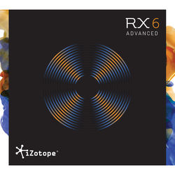 iZotope iZotope RX 6 Advanced - Audio Restoration and Enhancement Software (Educational, Download)