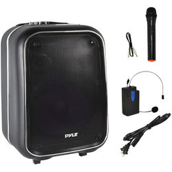 Pyle Pro Portable PA Loudspeaker Bluetooth Stereo System