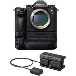 Sony Alpha a9 Mirrorless Digital Camera with Action Shooting Kit