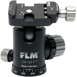 FLM CB-32 F Ball Head with SRB-40 Quick Release Clamp