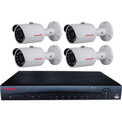 Honeywell Performance Series 4-Channel NVR with 2TB HDD and 4 3MP Bullet Cameras
