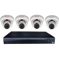 Honeywell Performance Series 4-Channel NVR with 2TB HDD and 4 3MP Turret Cameras