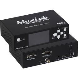 MuxLab HDMI 2.0/3G-SDI Signal Generator