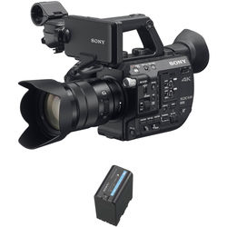 Sony Sony PXW-FS5 XDCAM with Zoom Lens & BP-U60 Battery Kit