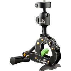 Takeway T1 Clampod Clamp Mount / Stand for Cameras, Smartphones & Tablets