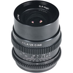SLR Magic Cine 25mm f1.4 Lens (Sony E-Mount)