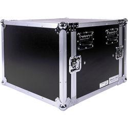 """DeeJay LED 8 RU Shock Mount Amplifier Deluxe Case (21"""" Deep)"""
