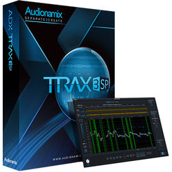 AUDIONAMIX TRAX 3 SP - Automated Speech Separation Software for Audio and Post Production (Download)