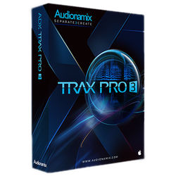 AUDIONAMIX TRAX 3 SP Pro - Automated Speech Separation Software for Audio and Post Production (Download)