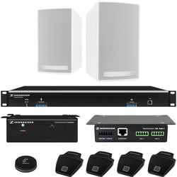 Sennheiser TeamConnect Standard Flex System Bundle with On-Table Microphones for Up to 8 Participants