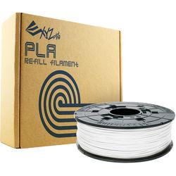 XYZprinting 1.75mm PLA Refill Filament (600g, Pearl White)