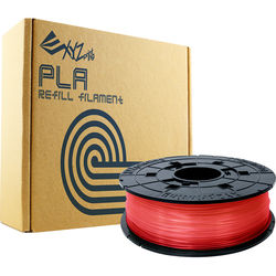XYZprinting 1.75mm PLA Refill Filament (600g, Clear Red)
