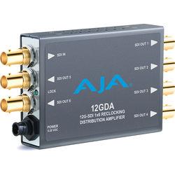 AJA 12GDA 12G-SDI 1x6 Reclocking Distribution Amplifier