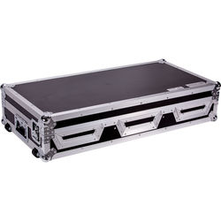 """DeeJay LED Case for Two Pioneer 2-CDJ2000 and 12"""" Mixer"""