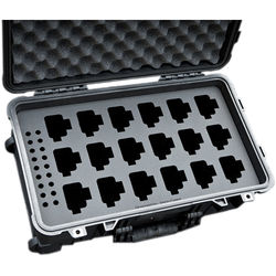 Jason Cases Protective Case for Up to 18 Kenwood TK-2402V16P Portable Radios