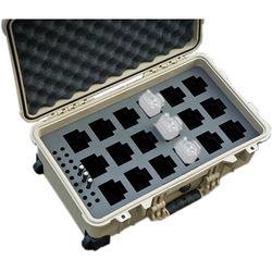 Jason Cases Protective Case for Up to 18 Motorola RDU4160D RDX Portable Radios