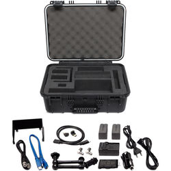 Video Devices Hard Case with 240GB SpeedDrive & Accessories for PIX-E/E5H Recorders