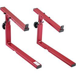 K&M 18813 Stacker Second-Tier Add-On for the Omega 18810 Keyboard Stand (Ruby Red)