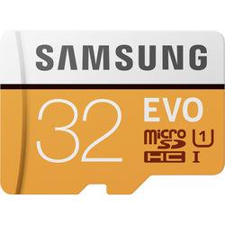Samsung 32GB EVO UHS-I microSDHC Memory Card