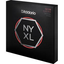 D'Addario NYXL1238PS Nickel Wound Custom Medium Pedal Steel Strings, (10-String Set, 12-38)