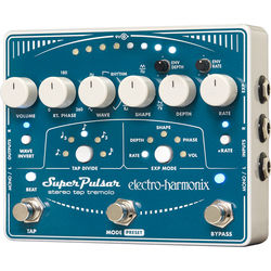Electro-Harmonix Super Pulsar Stereo Tap Tremolo Pedal