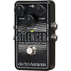 Electro-Harmonix Silencer Noise Gate with Built-In FX Loop