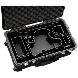 Jason Cases Protective Case for Fujinon 19-90mm T2.9 Cabrio Lens (Black Overlay)