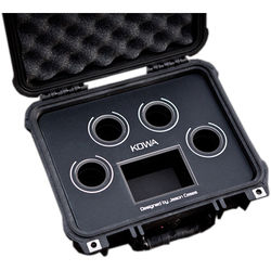 Jason Cases Protective Case for Kowa Lens (Black Overlay)