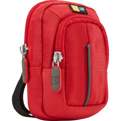 Case Logic DCB-302 Compact Camera Case with Storage (Red)