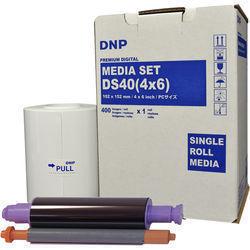 "DNP 4 x 6"" Print Pack for DS40 Printer (1-Pack)"