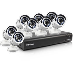 Swann SWDVK-845008 8-Channel 1080p DVR with 2TB HDD and 8 1080p Outdoor Bullet Cameras