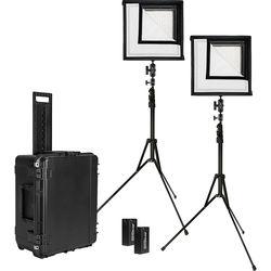 Westcott Flex Bi-Color LED Mat 2-Light Cine Travel Kit (1 x 1')