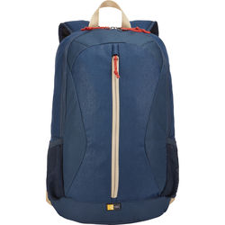 "Case Logic Ibira Backpack for 15.6"" Laptop and 10.1"" Tablet (Dress Blue)"