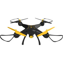 SYMA X8SW 2.4G Quadcopter With 1MP Wi-Fi FPV Camera - Tenergy Exclusive (Black/Yellow)
